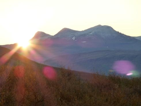 Sunrise over Hvalfjordur