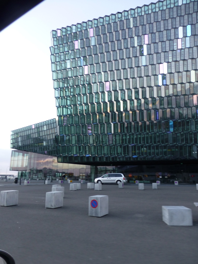 Harpa in the Day