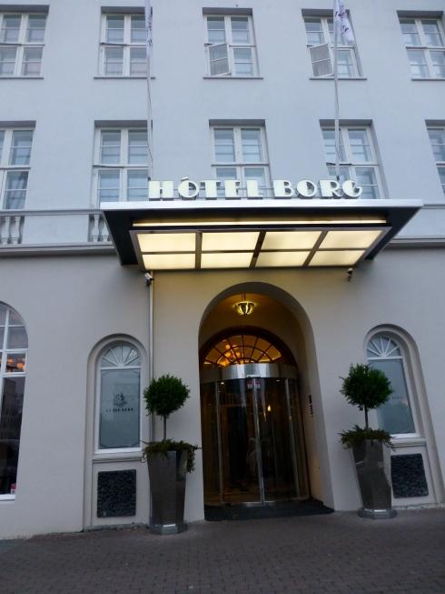 Hotel Borg Exterior