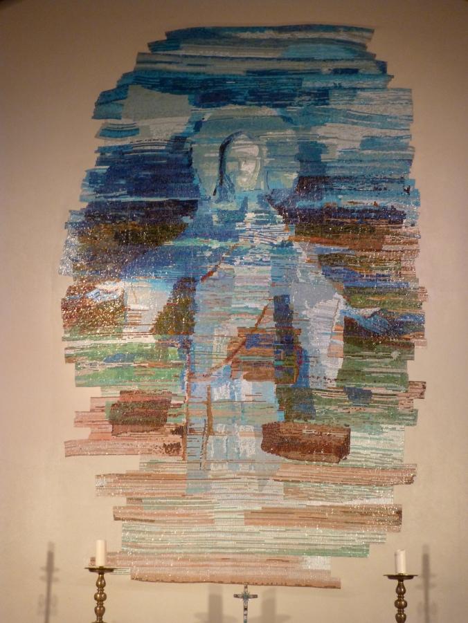 Jesus Mosaic in Skálholt