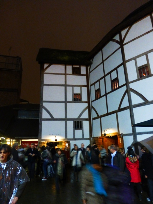 Exterior of the Globe