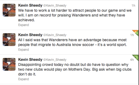 Sheedy Tweets