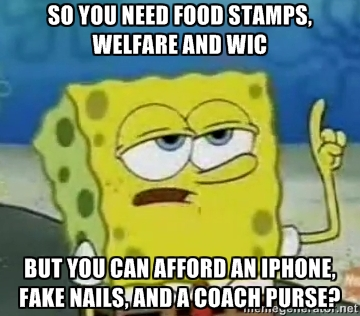 Food Stamps Meme