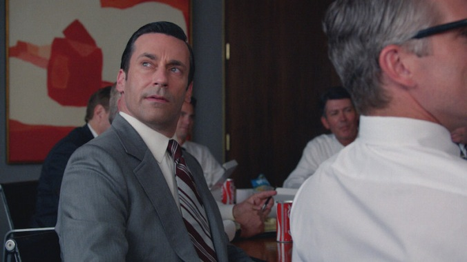 Jon Hamm as Don Draper - Mad Men _ Season 7B, Episode 12 - Photo Credit: Courtesy of AMC